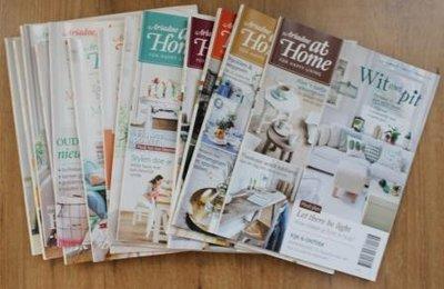 Set brocante tijdschriften Ariadne at Home jaargang 2016 (13 st)