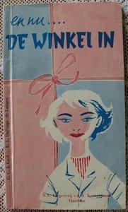 Vintage brocante leerboekje En nu...de winkel in (warenkennis)