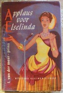 Vintage brocante meisjesboek Applaus voor Elselinda