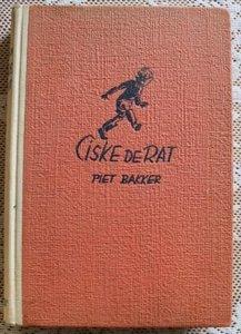 Vintage brocante kinderboek Ciske de Rat, Piet Bakker, 1941