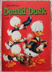 Oud vintage stripboek, weekblad Donald Duck nr. 27 van 1982
