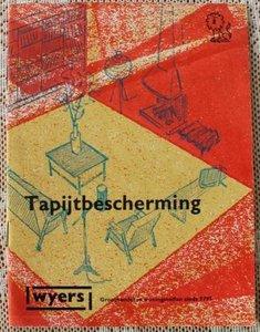 Vintage brocante boekje Tapijtbescherming, Wyers