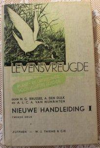 Vintage brocante leerboek Levensvreugde plant- en dierkunde 1947