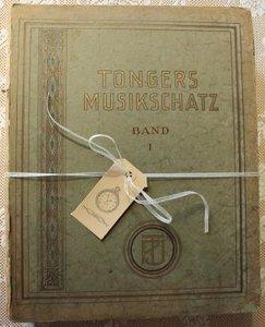 2 Dikke oude vintage brocante muziekboeken Tongers Musikschatz