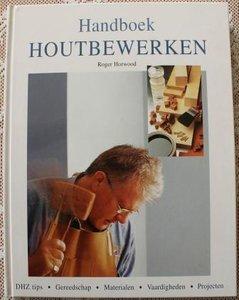 Vintage brocante DHZ hobbyboek Handboek Houtbewerken