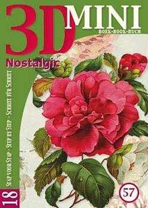 Miniboekje 3D Nostalgic nr. 57, 18 stap voor stap kaarten maken